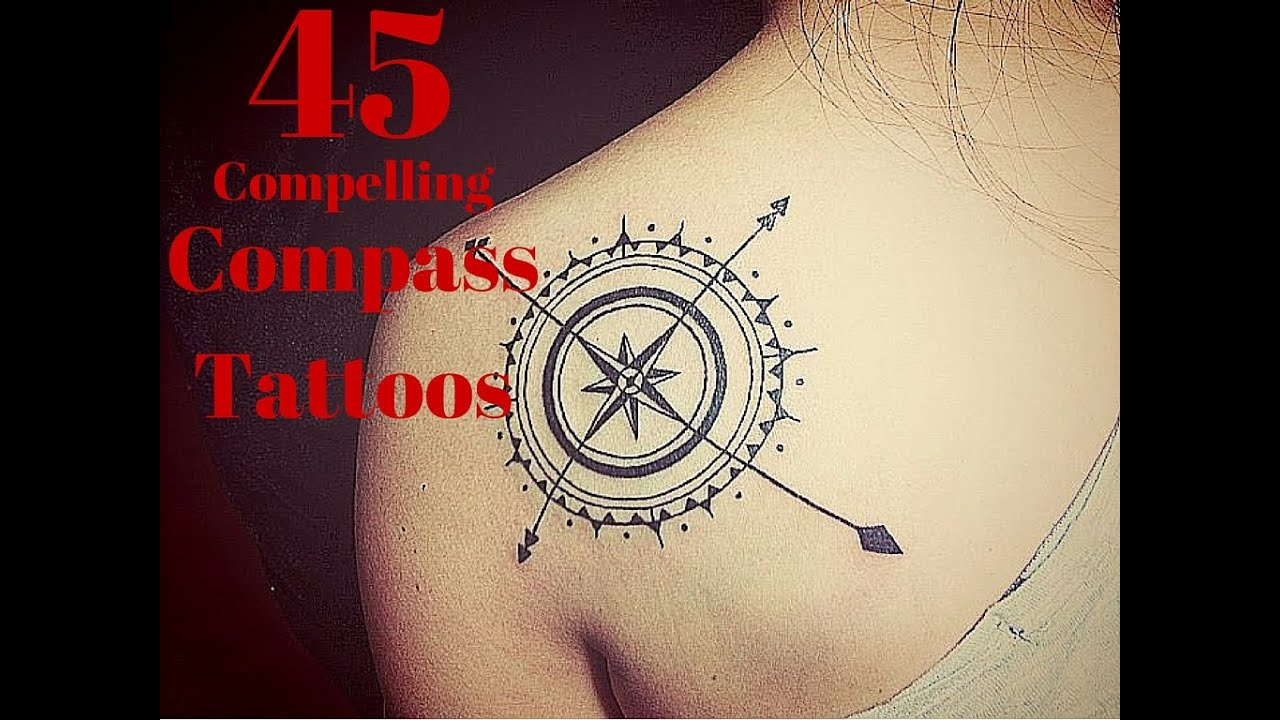 45 Compelling Compass Tattoos - YouTube