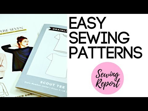 FAVORITE EASY SEWING PATTERNS FOR BEGINNERS | LIVE SHOW | SE