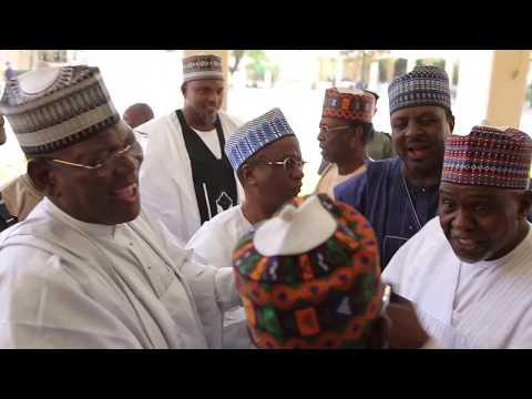 Auwal Abdullahi  & Halima Babangida Wedding