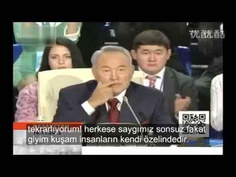 Kazakların Islam ahlakı - Nursultan Nazarbayev (Kazakistan Cumhurbaşkanın Efsane Konuşması)