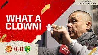 WOODWARD THE CLOWN! Manchester United 4-0 Norwich City Fan Cam