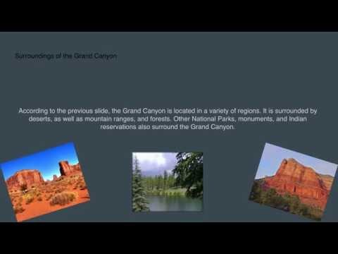 Grand Canyon History Slide