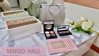 MINISO HAUL AND REVIEW / MINISO HYDERABAD/ Rs.230 - 900/- fashion, beauty & organisers