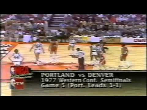 1977 WCSF Gm. 5 Blazers vs. Nuggets