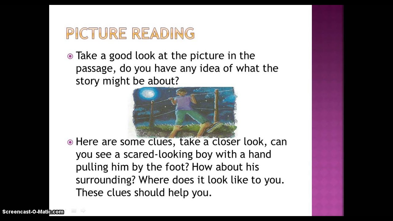 Class 5 Comprehension Week 2