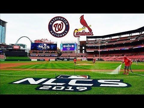 Nationals VS Cardinals NLCS Game 4 Live | Nationals Lead Series 3-0 2019 MLB Postseason
