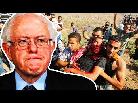 Bernie Not Buying Israel's Excuse For Gaza Deaths