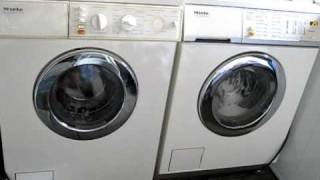 Miele W 720 and W 933: Wash action