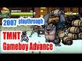 2007 TMNT Teenage Mutant Ninja Turtles (Gameboy Advance) Game Playthrough Retro Game