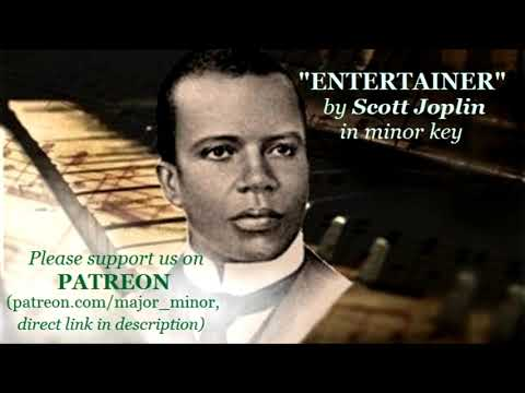 """The Entertainer"" (Orchestra Version) By Scott Joplin In Minor Key"