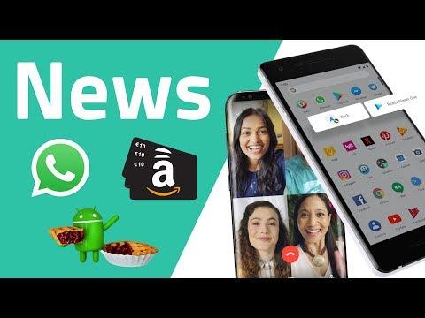 whatsapp-werbung,-amazon-10€-geschenk,-android-9-pie