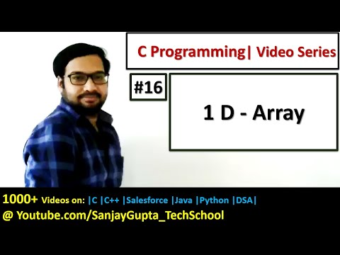 16-1d-array-in-c-programming---learn-easy-c-language-tutorials-by-sanjay-gupta-in-english