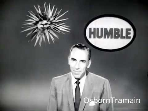 1957 Esso Humble Oil commercial with Rex Marshall - Atomic Age