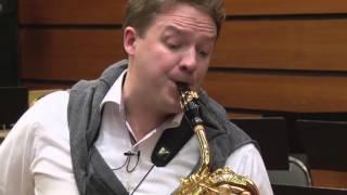 Alexandre Doisy (Tenor & Baritone saxophones) English voice over