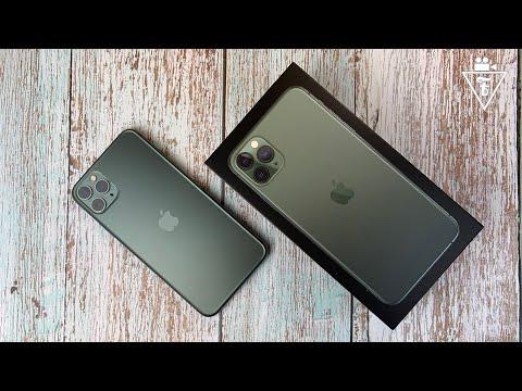 Распаковка и первое впечатление IPhone 11 Pro Max