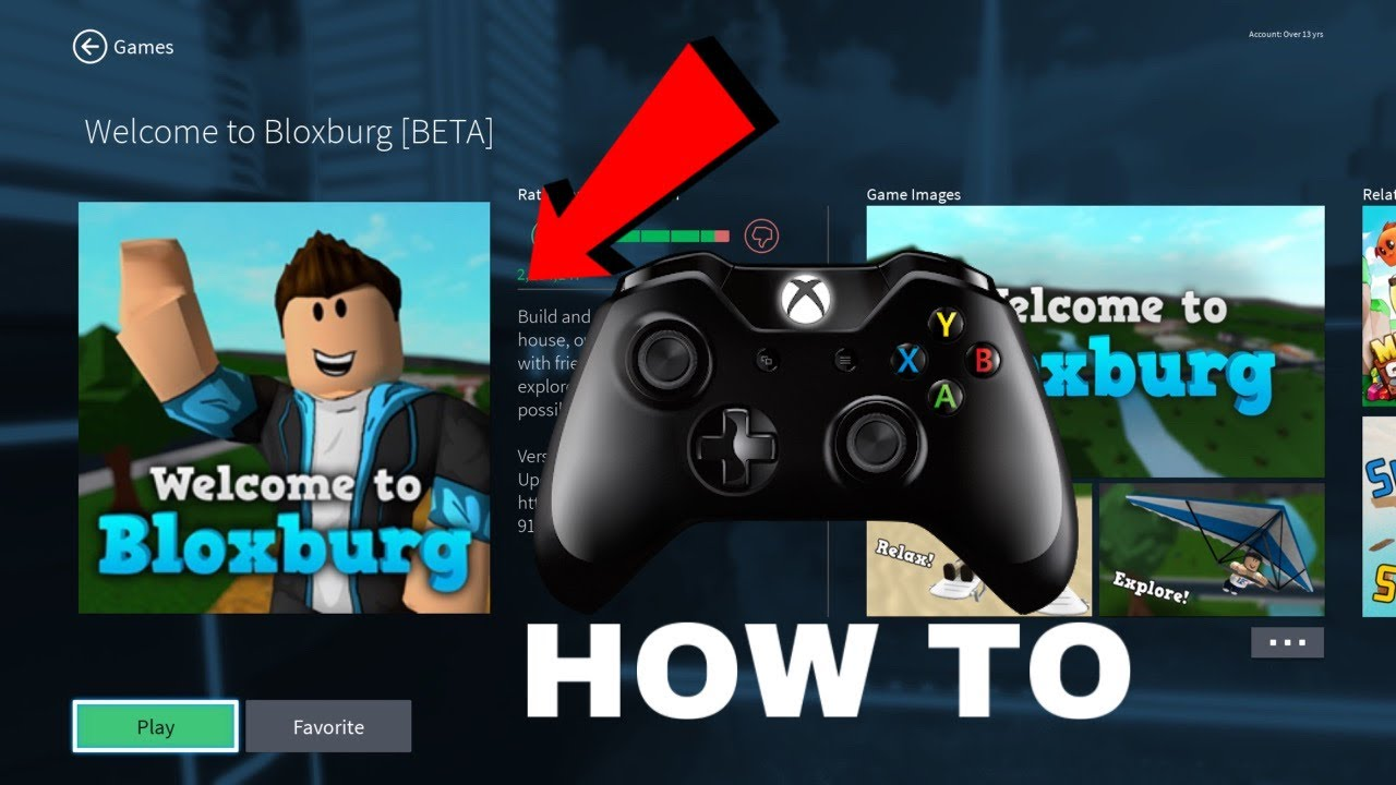 HOW TO GET WELCOME TO BLOXBURG ON XBOX ONE YouTube