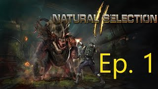 Natural Selection 2 - Ep. 1 - Marines on Mineshaft