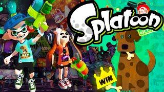 Splatoon Wii U Splatfest Results! Super Sea Snails Ink Brush Online Gameplay Walkthrough Part 21