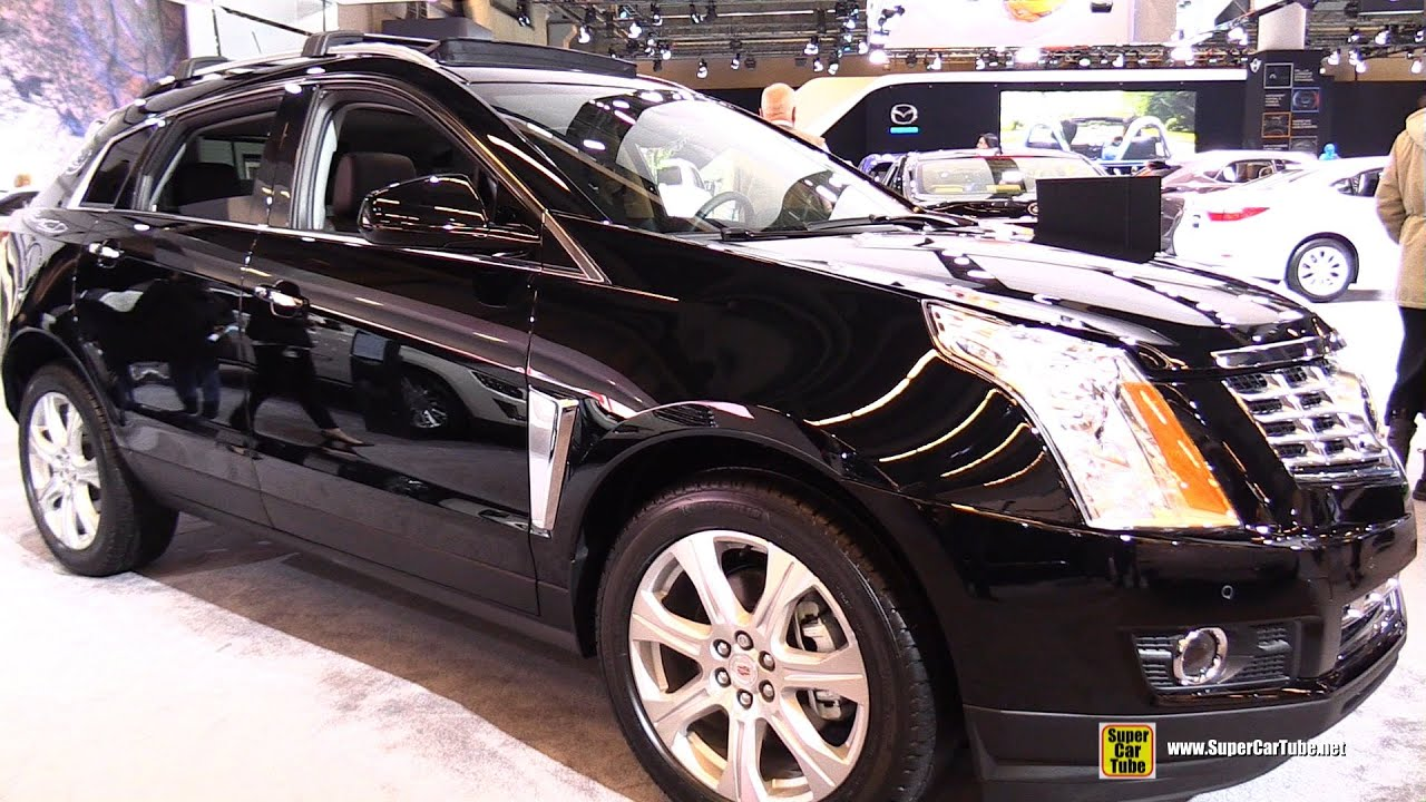 view first cadillac srx motor rear trend en look review side news