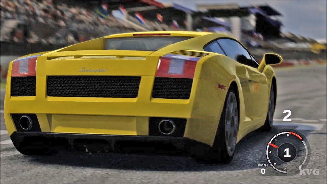 Forza Motorsport 3 Lamborghini Gallardo 2005 Test Drive Gameplay