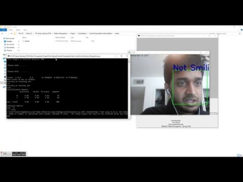 Facial Expression Recognition Using Scikit-learn & OpenCV