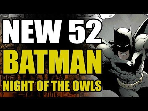 DC Comics New 52 Batman: Night of The Owls