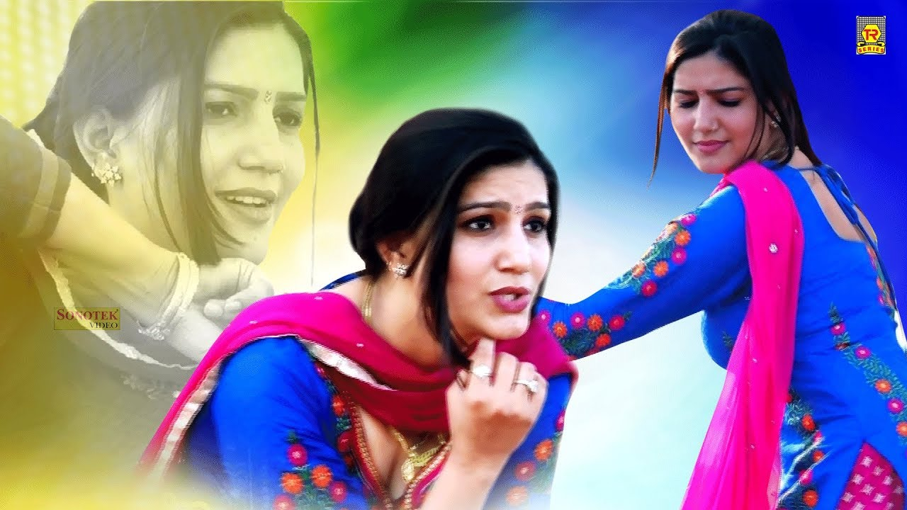 Haryanvi New Video | Sapna Beautiful look In Blue Suit | Best Viral Video | Trimurti