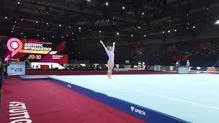 Gymnastics Worlds 2019: Team BRA Floor Podium Training