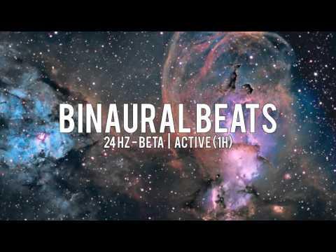 BINAURAL BEATS: 24Hz Beta / Active