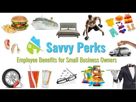 Savvy Perks Employee Benefits for Small Business