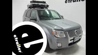Review of the Surco Safari Rooftop Cargo Basket - etrailer.com