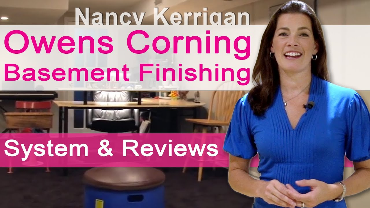 Owens Corning Basement Panels owens corning basement - finishing system and reviews - youtube