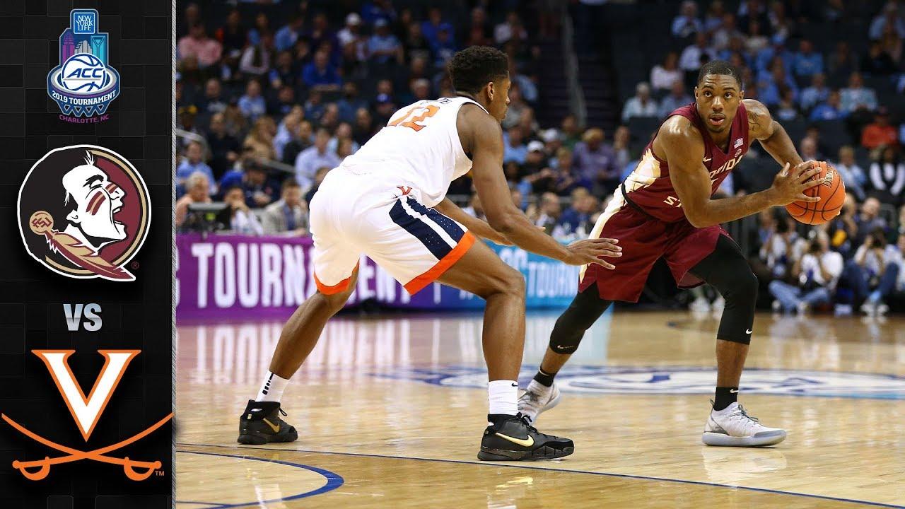 61bc6f7452b Florida State vs. Virginia ACC Basketball Tournament Highlights (2019)