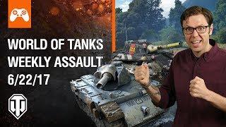 World of Tanks Weekly Assault #9