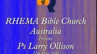 Rhema Australia - Dr. Larry Ollison
