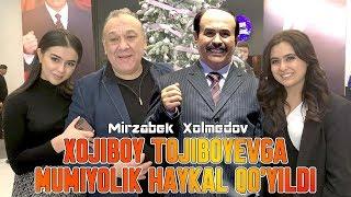 Xojiboy Tojiboevga mumiyolik haykal qo'yildi - Mirzabek Xolmedov