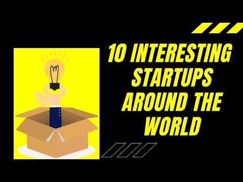 10 Interesting Startups Around the World |Innovative Business Ideas