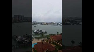 Hurricane Irma, 10AM before storm arrived