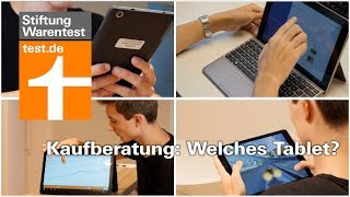 Welches Tablet? Alles über Tablets, Convertibles & Detachables - Kaufberatung