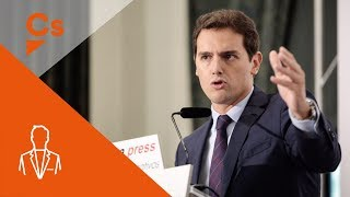 Albert Rivera. Desayuno Informativo - Europa Press