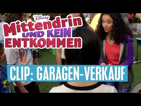 MITTENDRIN UND KEIN ENTKOMMEN - Clip: Der Garagen-Verkauf | Disney Channel