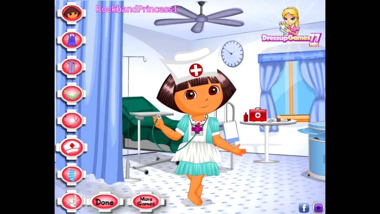 Dora The Explorer Dress Up Games Youtube