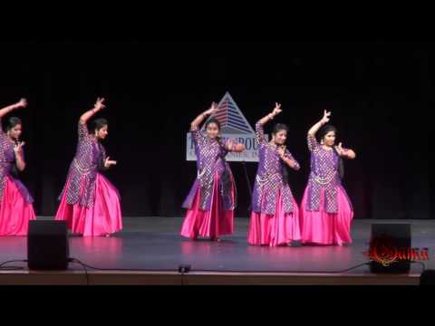 GAMA Onam 2016   Semi classical Cinematic Fusion Dance