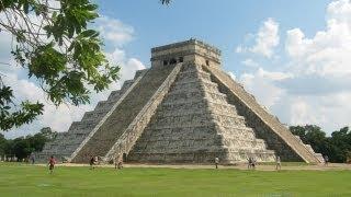 The Large Pre-Columbian City - Chichen Itza, Mexican State of Yucatan