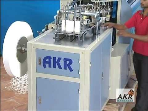 PAPER CUP FORMING MACHINE - AKR PC 850