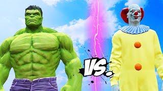 HULK vs PENNYWISE (IT) - Epic Battle