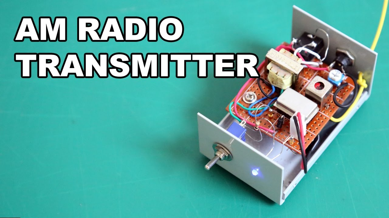 Am Radio Transmitter For Vintage Tube Radio - Simple  But Great Performance