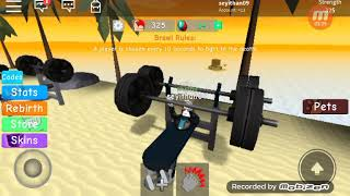 Roblox muscle-building game #1