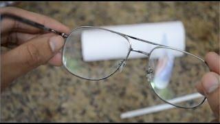 Como tirar arranhão dos oculos