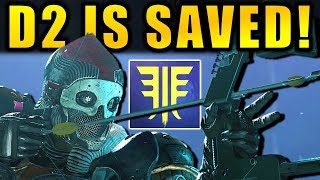 DESTINY 2 SAVED! - New SUPERS! - BOW & ARROWS! - New RAID & More! | Forsaken DLC